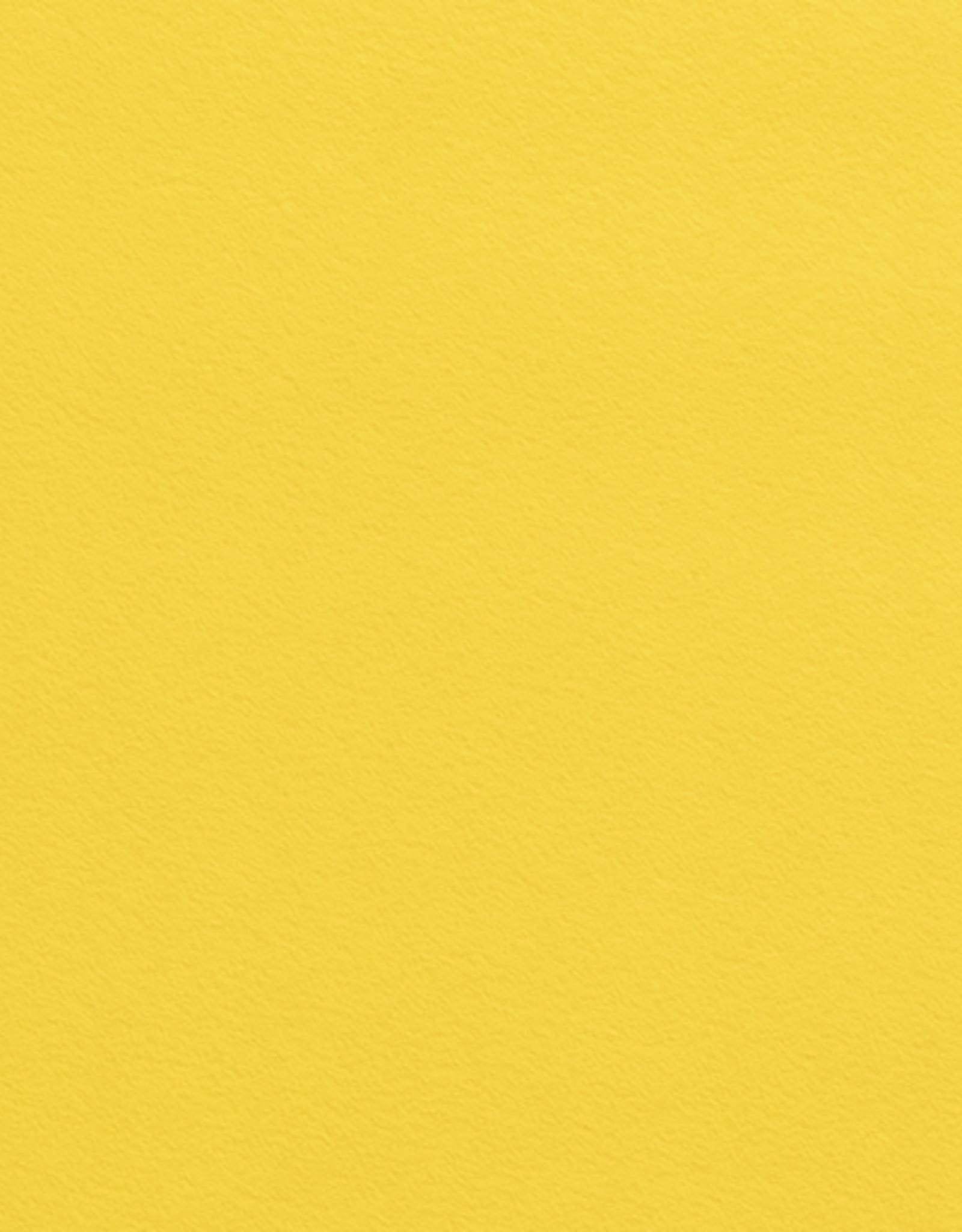Vilt 1mm geel per vel 20x30cm