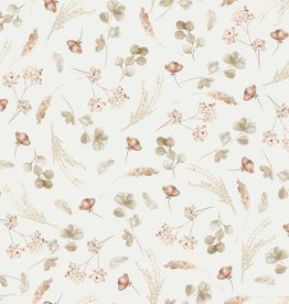 family fabrics Romantic Dried Flowers jersey