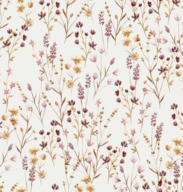family fabrics Wild Floral jersey (meadow)