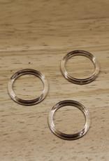 Bikini/bh ringetjes 13mm transparant
