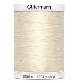 Gütermann Alles naaigaren Gütermann 1000m 802 gebroken wit