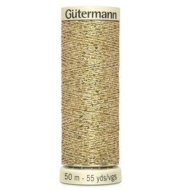 Gütermann Metallic garen Gütermann 50m goud col.24
