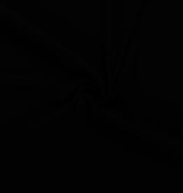 Nooteboom COUPON Moss crepe zwart 50x140cm