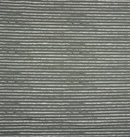 Qjutie COUPON  Stripe Grey 155x140cm