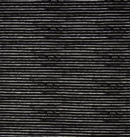 Qjutie Stripe Black