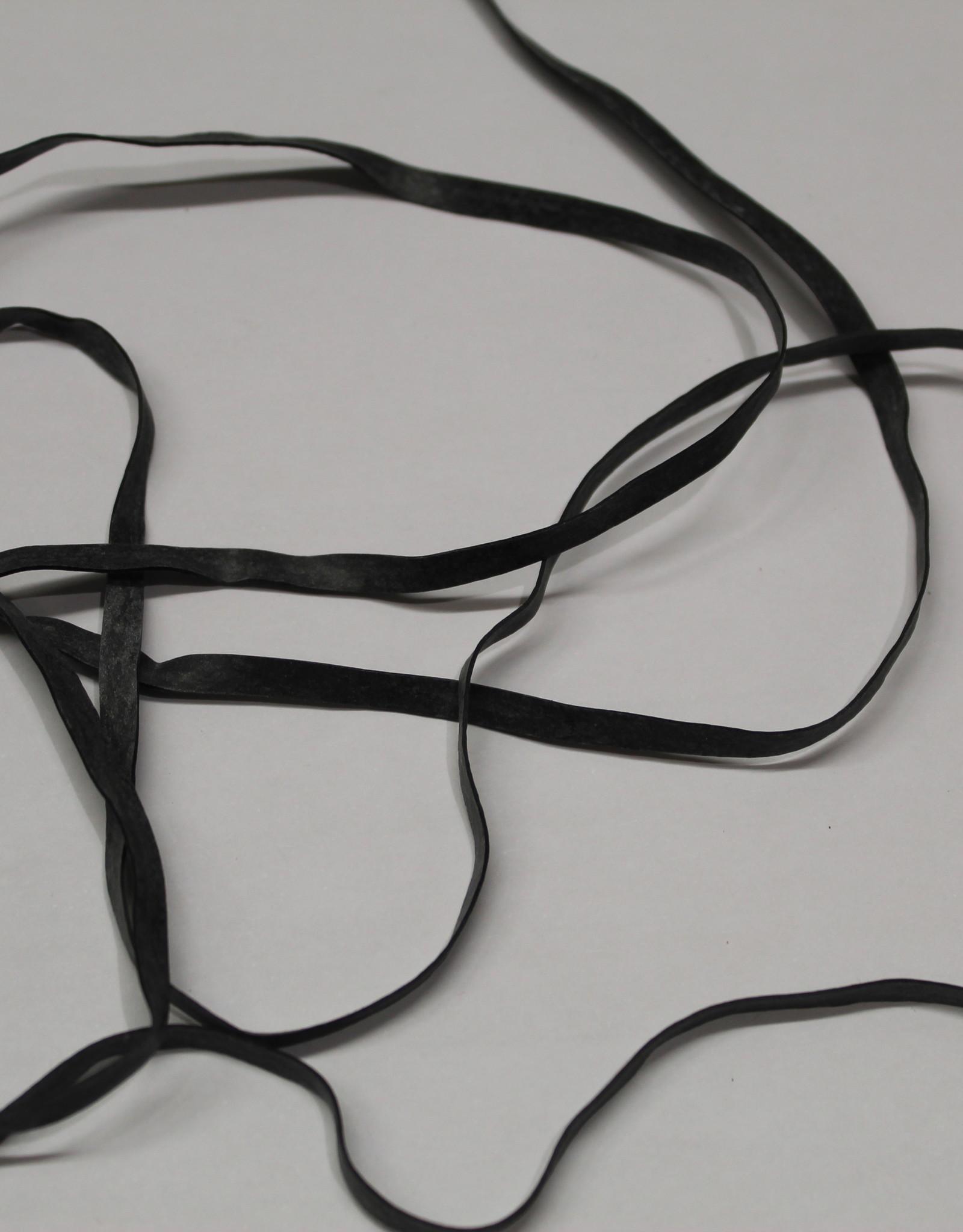 Badpak elastiek 4mm zwart