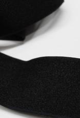 Elastiek glanzend zwart 40mm