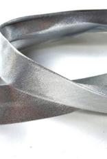 Fillawant Biais lame 20mm op rol zilver