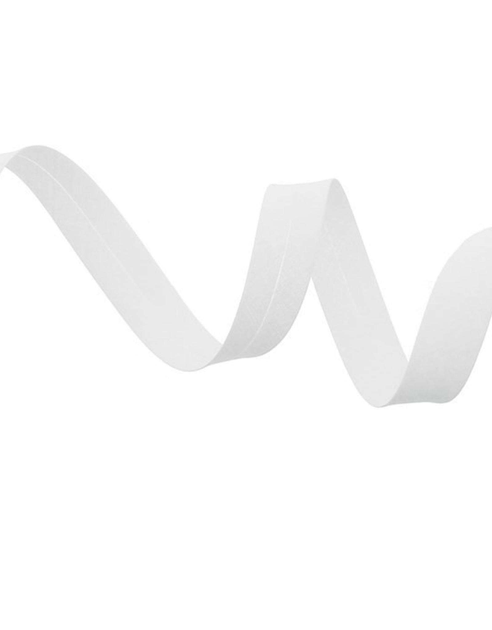 Fillawant Biais polykatoen 20mm op rol col 501 wit