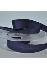 Fillawant Biais polykatoen 20mm op rol col 770 marine