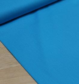 Uni katoen turquoise