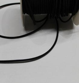 Elastisch koord zwart 3mm