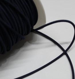 Elastisch koord marine blauw 3mm