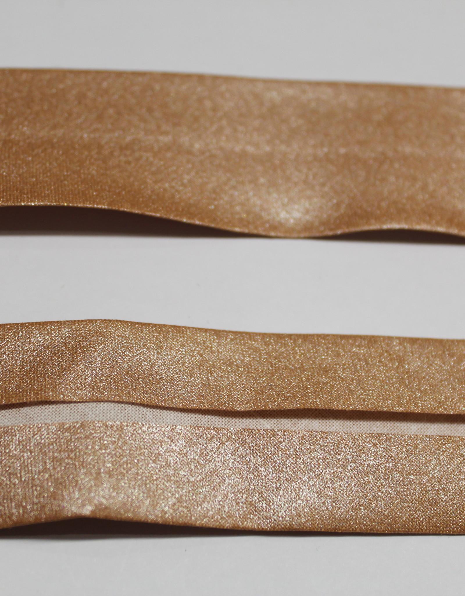 Biais metallic 30mm op rol col.86 koper