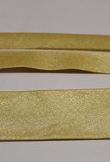 Biais metallic 30mm op rol col.84 lichtgoud