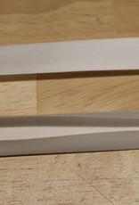 Fillawant Biais satijn 20mm op rol col.1001 gebroken wit