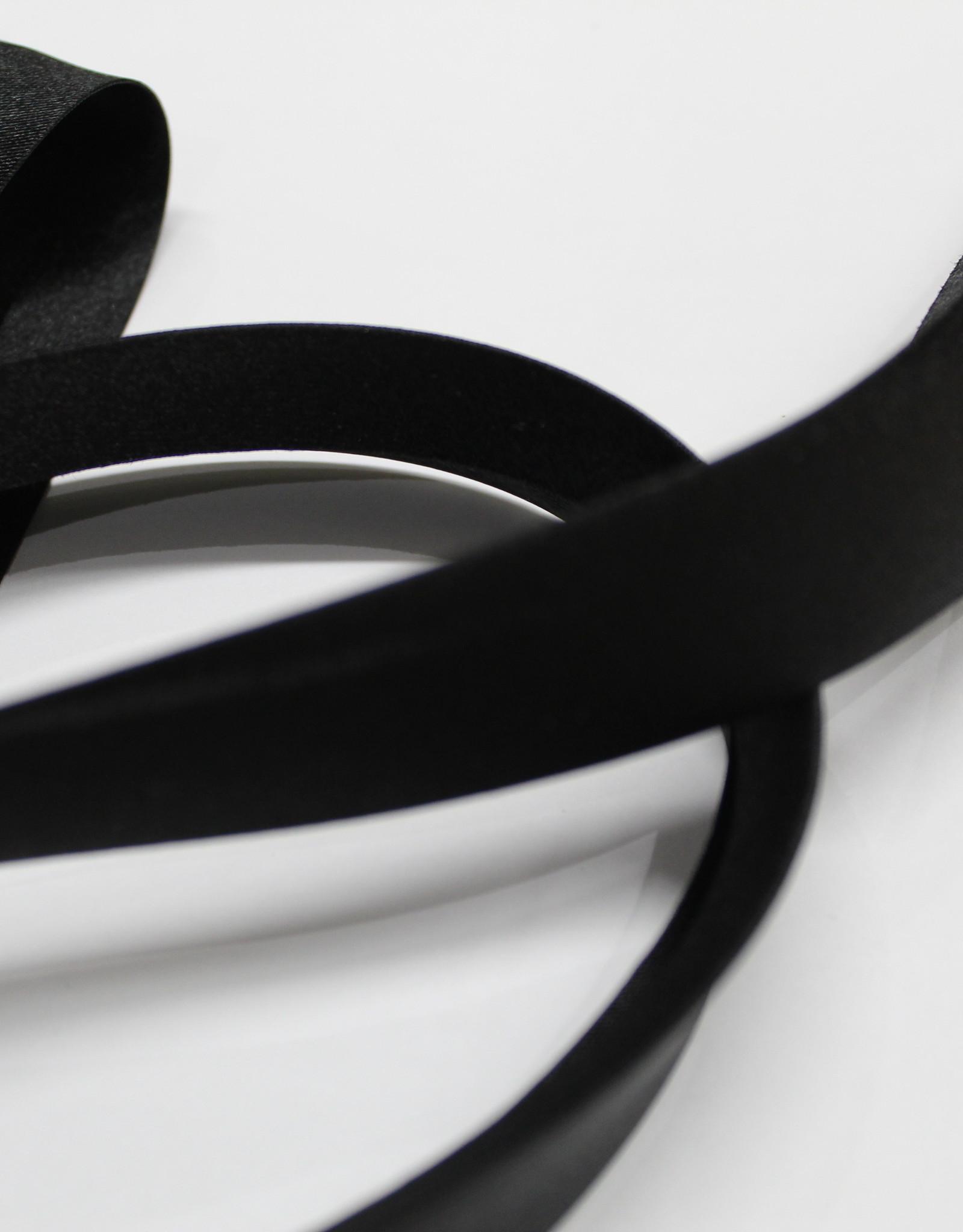Fillawant Biais satijn 20mm op rol col.1265 zwart