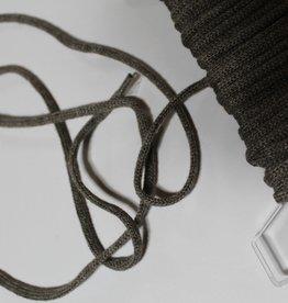 Union Knopf Ronde veter koord 5mm molgrijs