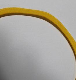 Paspel elastisch zon geel col.9027