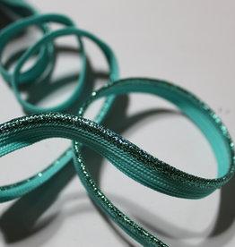 Paspel geweven glitters mint groen