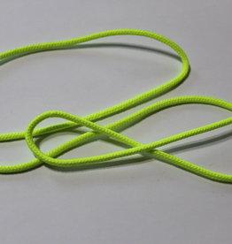 Anorak touw 3mm neo fluo geel
