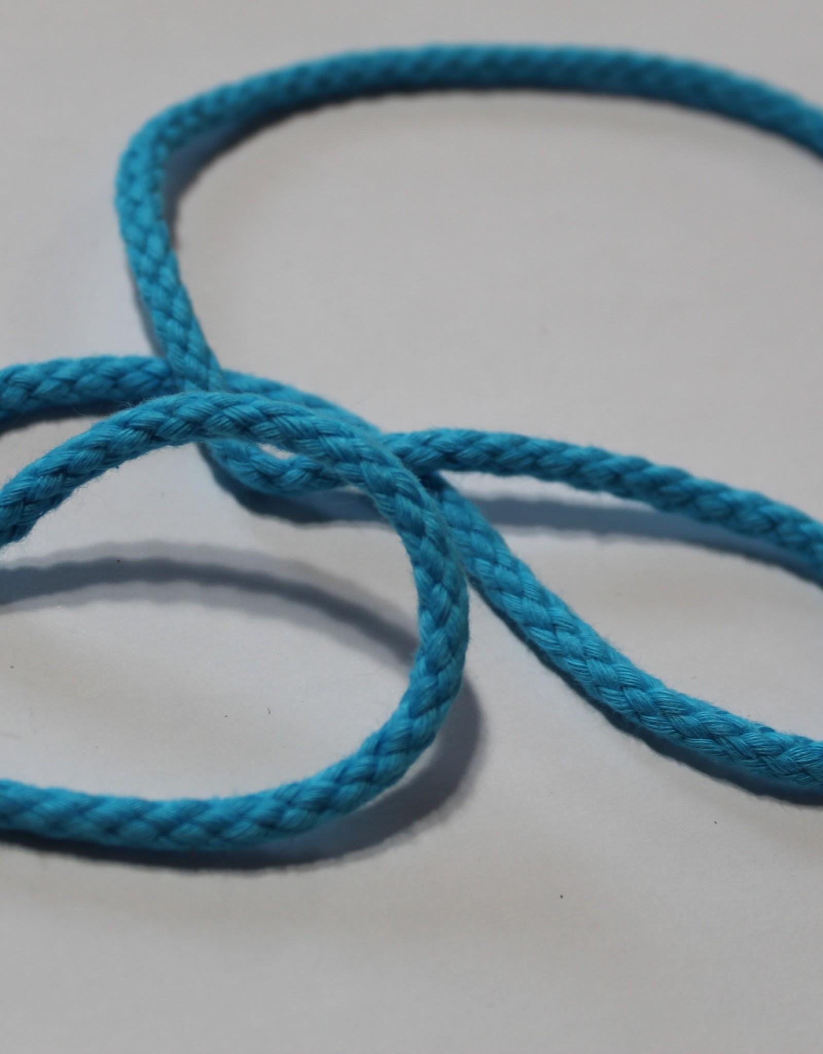 Anorakkoord 5mm turquoise col.640