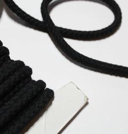 Koord gedraaid 10mm zwart