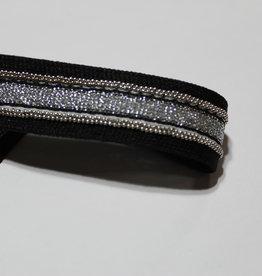 Lint wannabe-a-diamant-lookalike 25mm zilver glitters