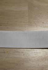 Keperband katoen 20mm wit col.009