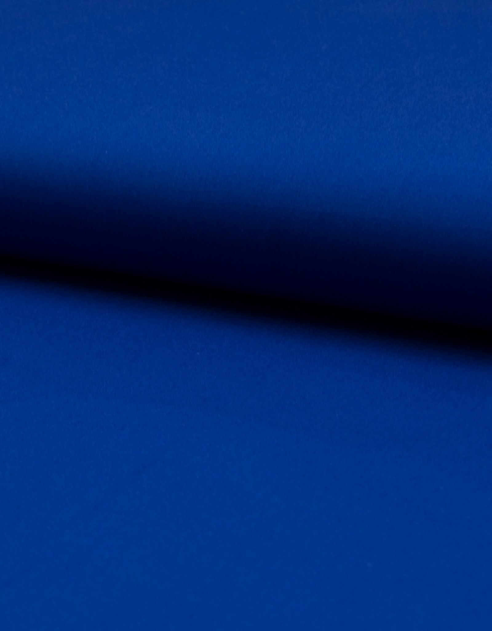 Uni katoen royal blue