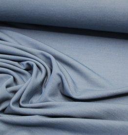 Tricot optic jeans denimlook lichtblauw