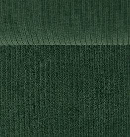 swafing Ribtricot smal geribbeld groen