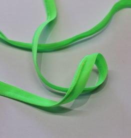 Paspel elastisch fluo groen