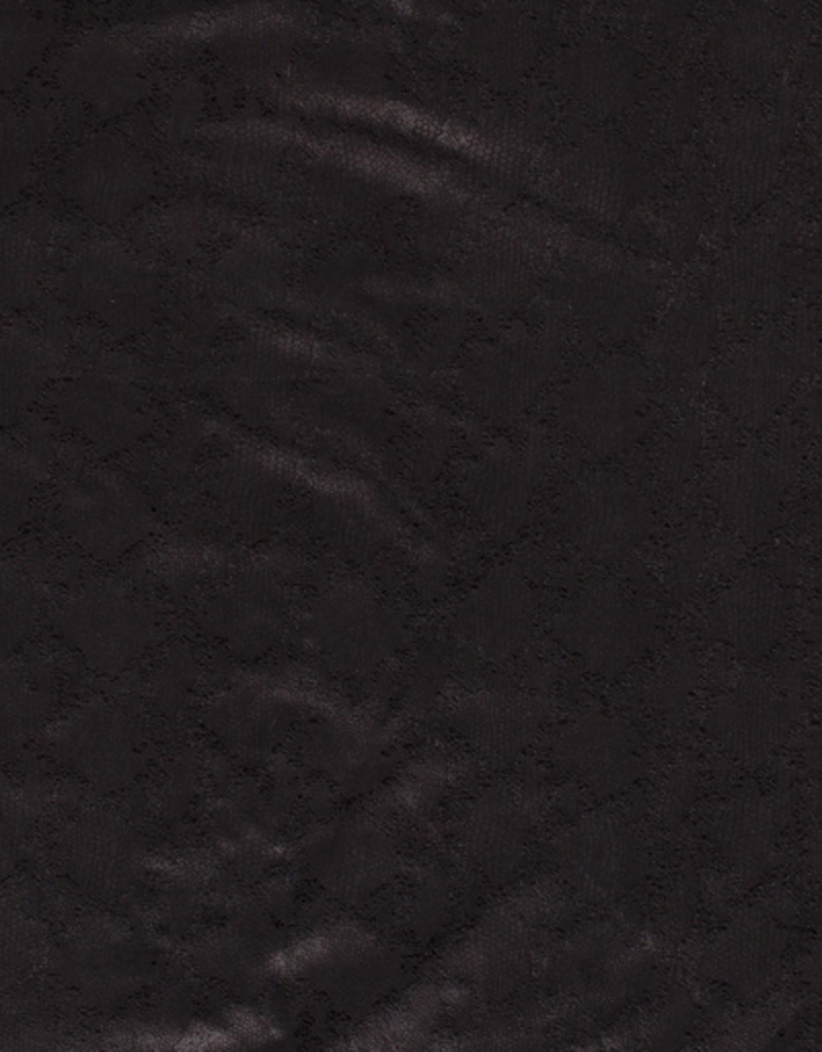 coupon Suede snake foil zwart45x150cm