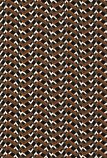 Nooteboom Bubble chiffon geometrische zigzagprint