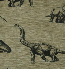 Hilco COUPON Prehistorical Khaki 24x145cm