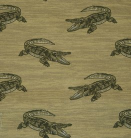 Hilco Save the animals 125 Khaki CROCODILE