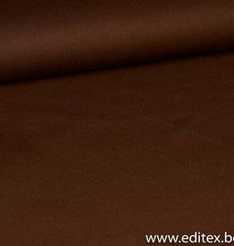 Scuba  velvet cognac diagonaal gestreept