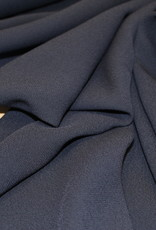 A La Ville Haute Couture Crepe marine blauw
