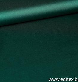 Fibre Mood COUPON Satijn dennengroen Madeline rok 95x150cm