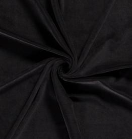 Nooteboom Babyrib tricot velvet zwart