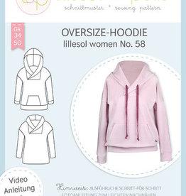 Lillesol & Pelle Oversize hoodie vrouwen no 58