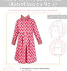 Lillesol & Pelle Kleed met rolkraag no 39