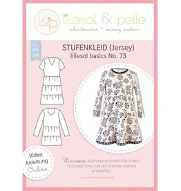 Lillesol & Pelle Strokenkleed (tricot) no 73