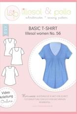 Basic T-shirt vrouwen no 56