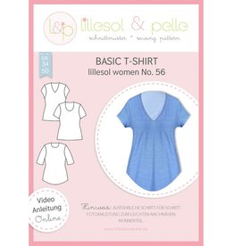 Lillesol & Pelle Basic T-shirt vrouwen no 56