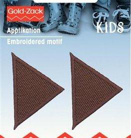 Prym Prym  - applicatie driehoek klein bruin - 925 280