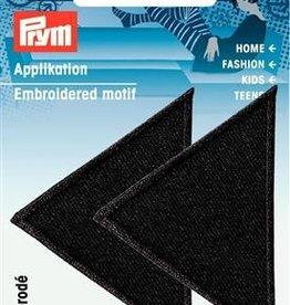Prym Prym  - applicatie driehoek zwart - 925 466