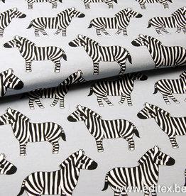 Eva Mouton French Terry Zebra - Eva Mouton