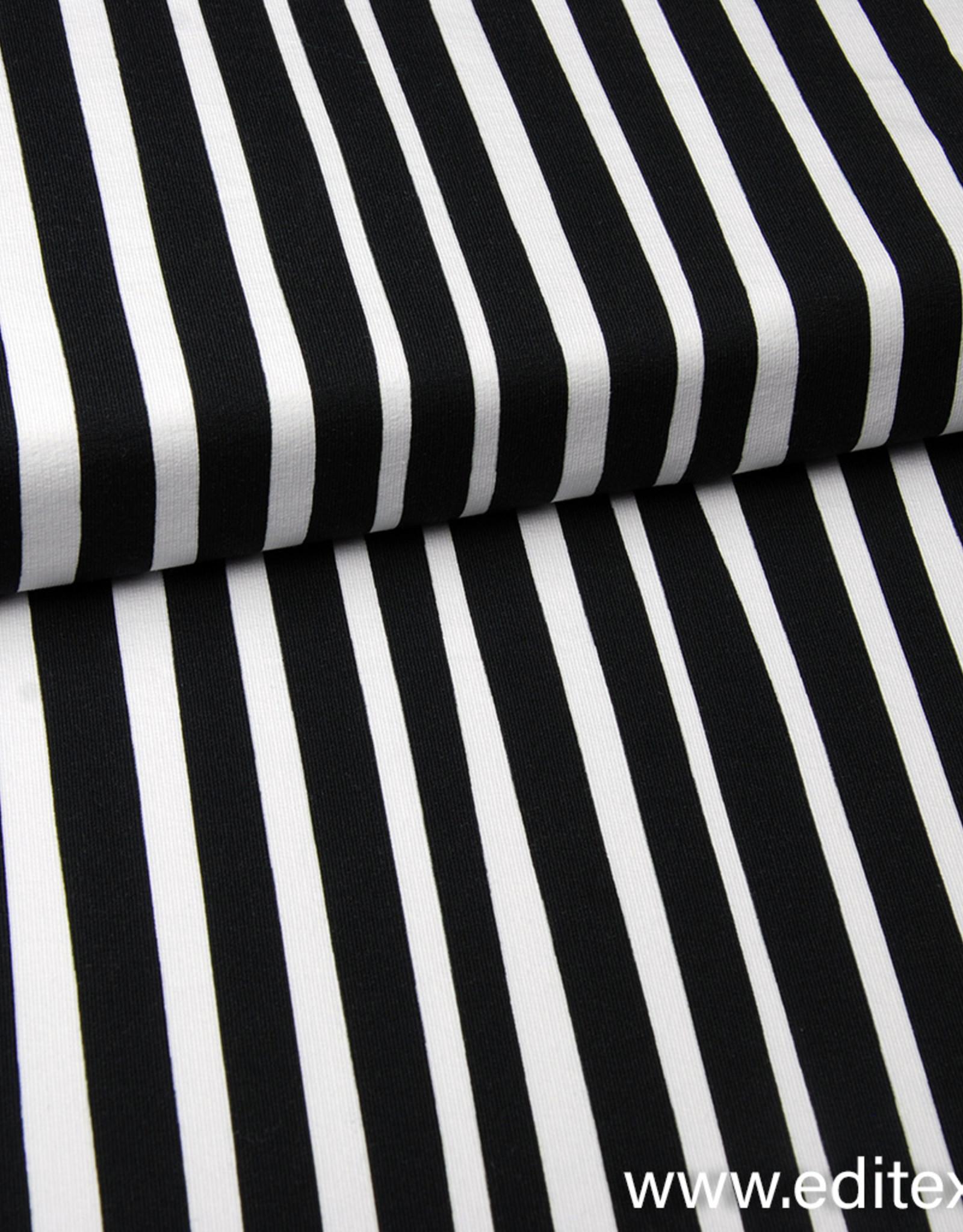 Eva Mouton French Terry Zebra Stripes - Eva Mouton